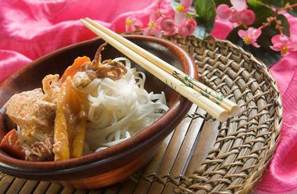 Thai-Fisch-Curry lecker und gesund zubereitet