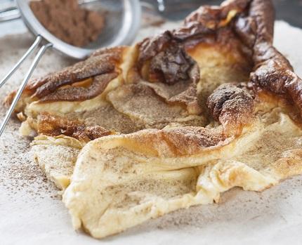 Ofenpfannkuchen nach finnischem Rezept